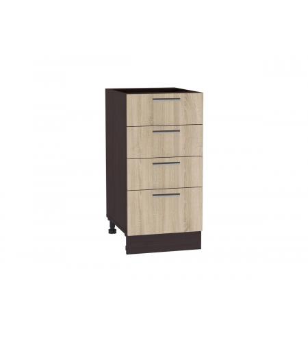 Шкаф нижний с 4-мя ящиками Брауни ШН 404