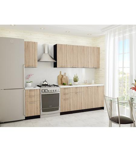 Кухня «Брауни-02»  Дуб сонома