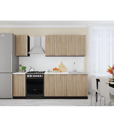 Кухня «Брауни-01»  Дуб сонома