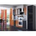 Кухня «Валерия-03»  Оранжевый глянец/Венге