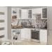 Кухня «Валерия-04»  Белый глянец