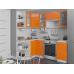 Кухня «Валерия-04»  Оранжевый глянец