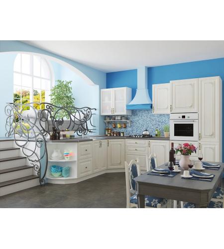 Кухня «Виктория-02»  Белый сандал