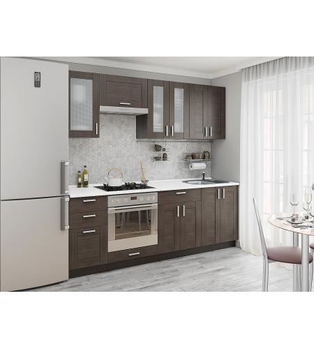 Кухня «Лофт-01»  Wenge Veralinga