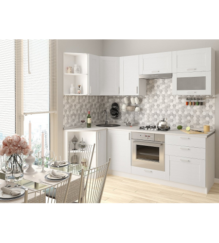 Кухня «Лофт-03»  Snow Veralinga