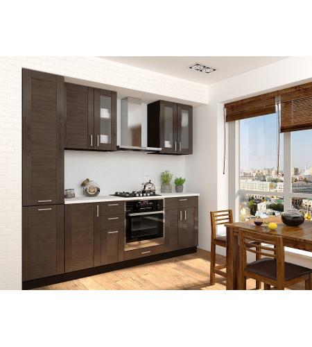 Кухня «Лофт-02»  Wenge Veralinga