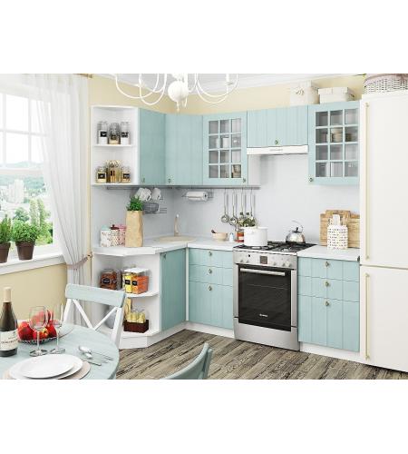 Кухня «Прованс-02»  Голубой