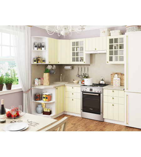Кухня «Прованс-02»  Ваниль