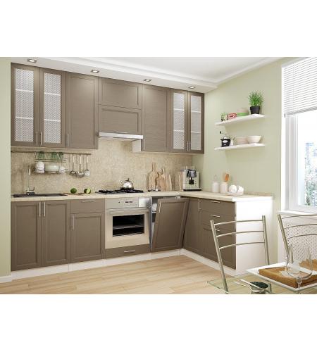 Кухня «Сканди-04»  Cappuccino Wood