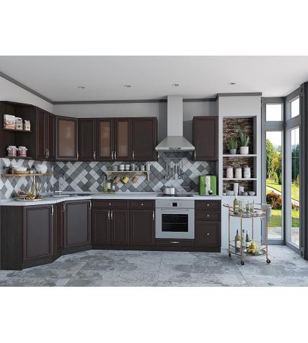 Кухня «Шале-03»  Thermo Oak