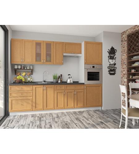 Кухня «Шале-02»  Real Oak