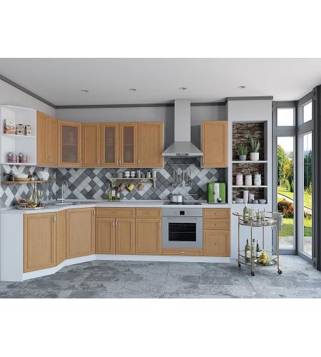 Кухня «Шале-03»  Real Oak