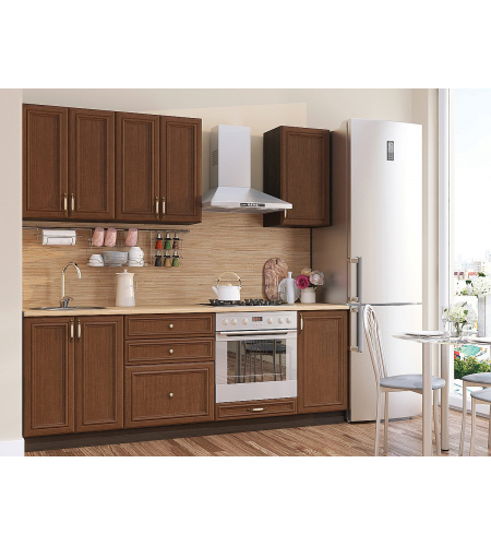 Кухня «Шале-01»  Brown Oak