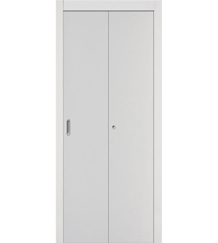Дверь складная межкомнатная «Гост» Белый глухая