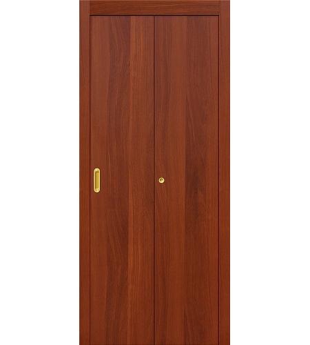 Дверь складная межкомнатная «Гост» ИталОрех глухая