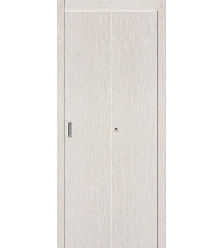 Дверь складная межкомнатная «Гост» БелДуб глухая