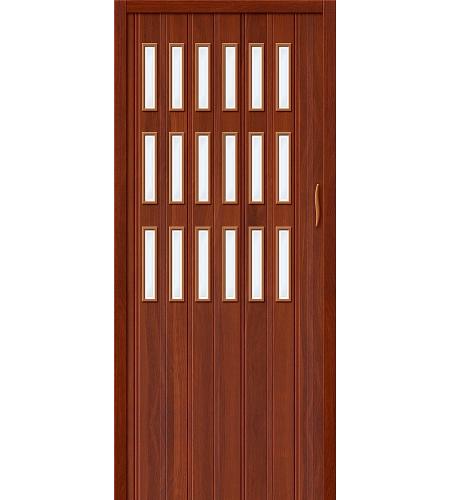 Дверь складная межкомнатная «Дилсон-018» ИталОрех