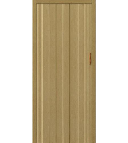 Дверь складная межкомнатная «Дилсон-008» Светлый Дуб