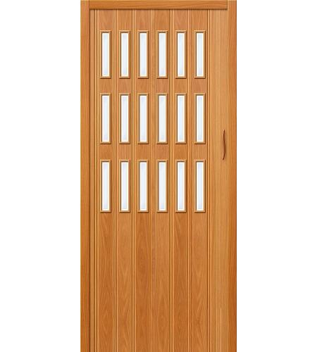 Дверь складная межкомнатная «Дилсон-018» МиланОрех