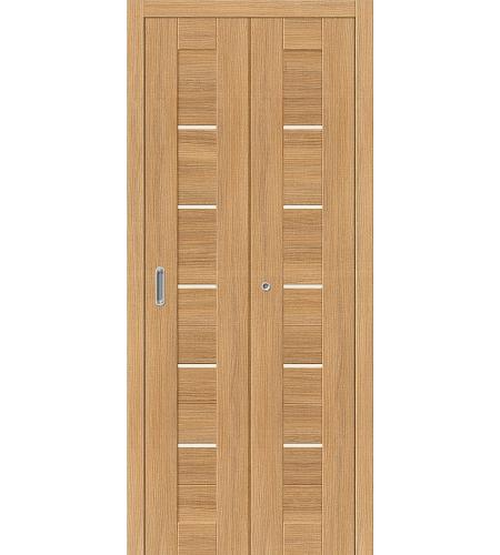 Дверь складная межкомнатная «Порта-22» Anegri Veralinga остекленная