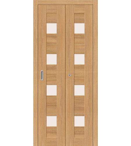 Дверь складная межкомнатная «Порта-23» Anegri Veralinga остекленная