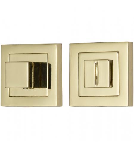 Фиксатор на квадратной розетке для межкомнатной двери «A/Z-2WC»  G Золото