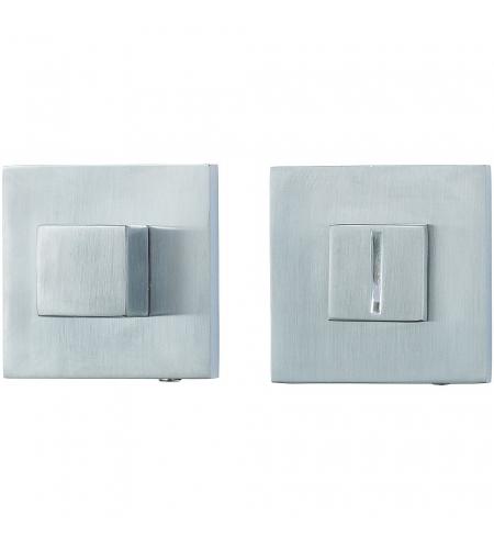 Фиксатор на квадратной розетке для межкомнатной двери «A/Z-9WC»  BС БрашХром