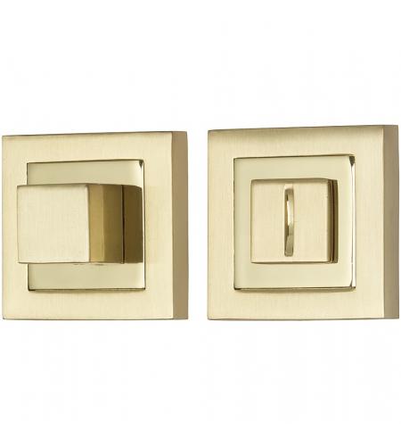 Фиксатор на квадратной розетке для межкомнатной двери «A/Z-2WC»  SG МатЗолото