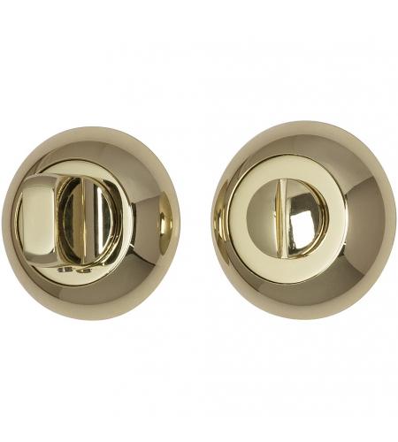 Фиксатор на круглой розетке для межкомнатной двери «А/Z-4WC»  G Золото