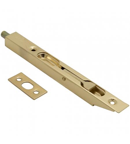 Шпингалет торцевой Bravo R-160, Золото, Фурнитура для дверей