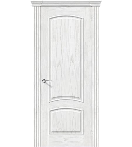 Дверь межкомнатная шпонированная «Амальфи»  Жемчуг глухая