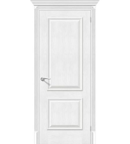 Дверь межкомнатная из эко шпона «Классико-12»  Royal Oak глухая
