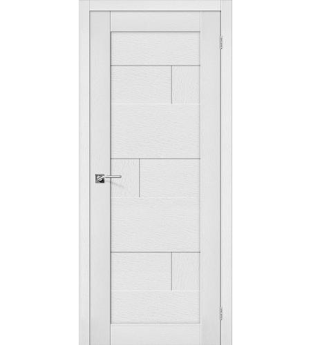 Дверь межкомнатная из эко шпона «Легно-38»  Virgin глухая
