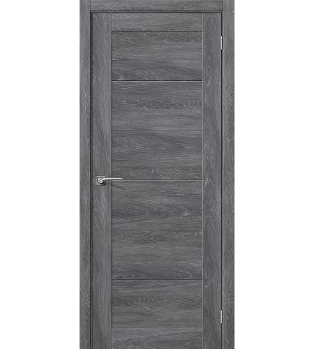 Дверь межкомнатная из эко шпона «Легно-21»  Chalet Grasse глухая