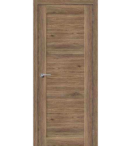 Дверь межкомнатная из эко шпона «Легно-21»  Original Oak глухая