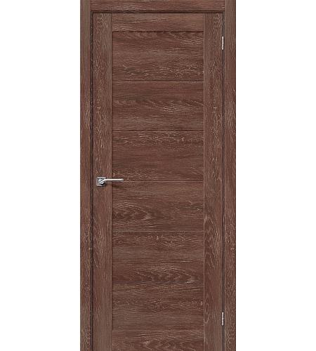 Дверь межкомнатная из эко шпона «Легно-21»  Chalet Grande глухая