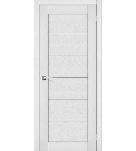 Дверь межкомнатная из эко шпона «Легно-21»  Virgin глухая