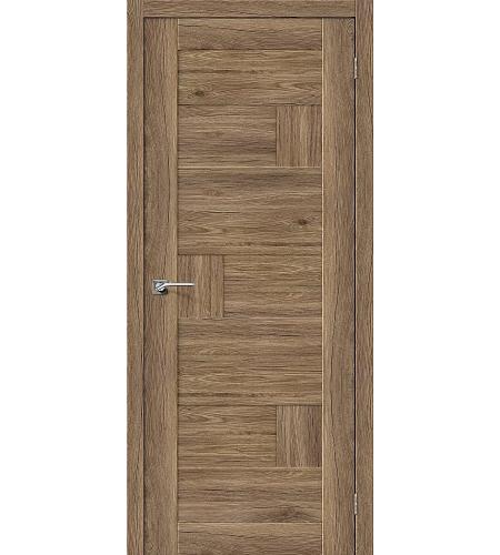 Дверь межкомнатная из эко шпона «Легно-38»  Original Oak глухая