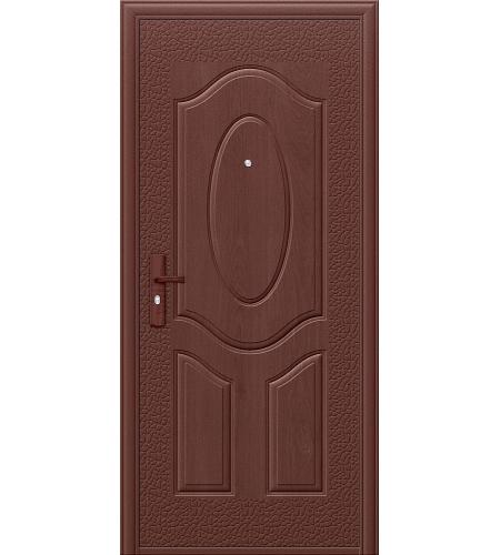 Дверь входная металлическая  «Е40М-1-40»    Молотковая эмаль/Молотковая эмаль