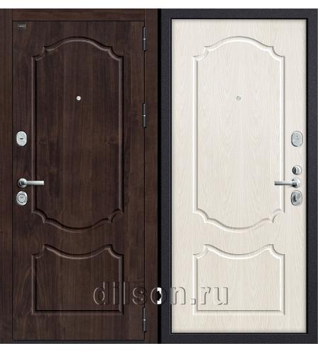 Дверь входная металлическая «Р3-310» Темная Вишня/Беленый Дуб