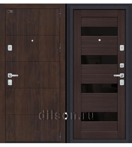 Дверь входная металлическая «Porta M 4.П23» Almon/Wenge Veralinga