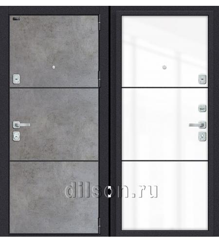 Дверь входная металлическая «Porta M П50.П50» Dark Concrete/Angel