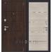 Дверь входная металлическая «Porta S 4.П50 (IMP-6)» Almon 28/Cappuccino Veralinga