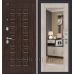 Дверь входная металлическая «Porta S 51.П61 (Урбан)» Almon 28/Cappuccino Veralinga