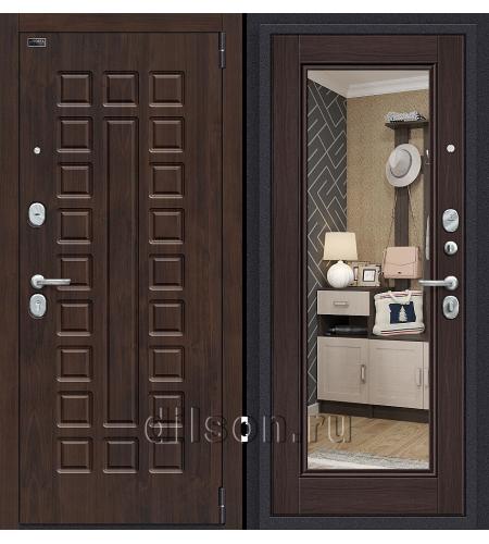 Дверь входная металлическая «Porta S 51.П61 (Урбан)» Almon 28/Wenge Veralinga