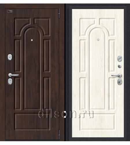 Дверь входная металлическая «Porta S 55.55» Almon 28/Nordic Oak
