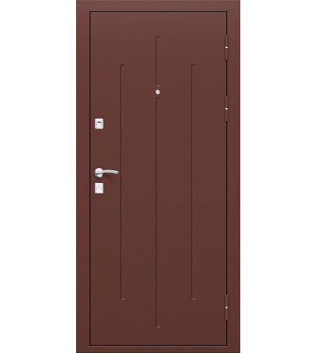 Дверь входная металлическая  «Стройгост 7-2»    Антик Медь/Антик Медь