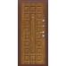 Дверь входная металлическая  «Йошкар»    Антик Медь/Золотистый Дуб